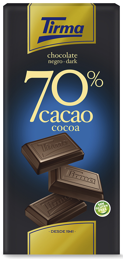 Chocolate 70% cacao 125g